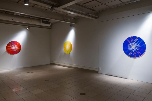 Install, Red, Yellow, Blue