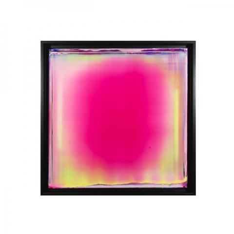 Photon Explosion1 Acrylic on canvas 18x18x2 inches 2020